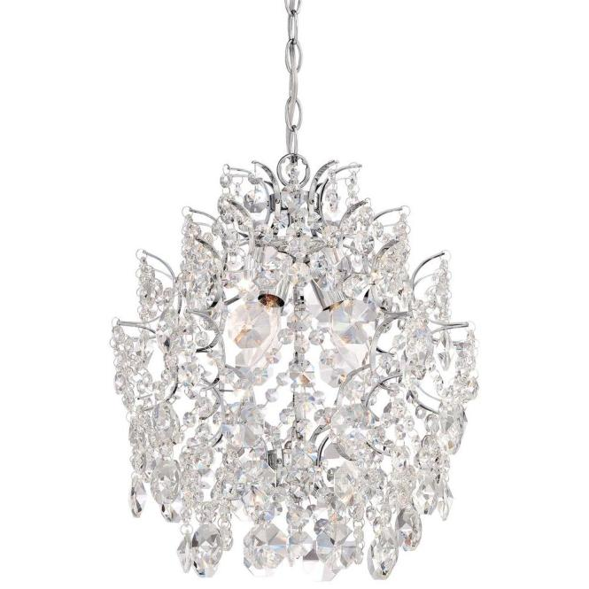 Minka Lavery 3 Light Chrome Mini Chandelier