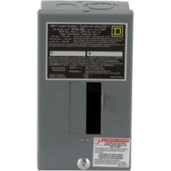Manual Transfer Switch Wiring Diagram John Deere Lt155 Square D Qo 30 Amp 2-space 2-circuit Indoor Main Lug Load Center-qo2l30scp - The Home Depot