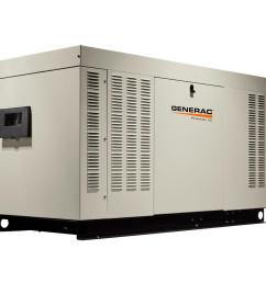 48 000 watt 120 volt 240 volt liquid cooled standby generator single phase with aluminum enclosure [ 1000 x 1000 Pixel ]