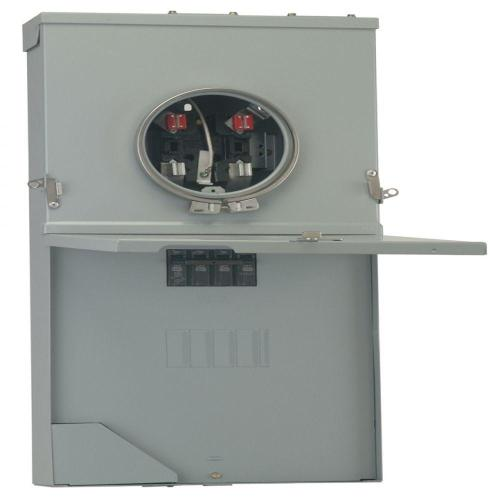 small resolution of ge powermark gold 200 amp 4 space 8 circuit meter socket load center ge meter and panel wiring diagram