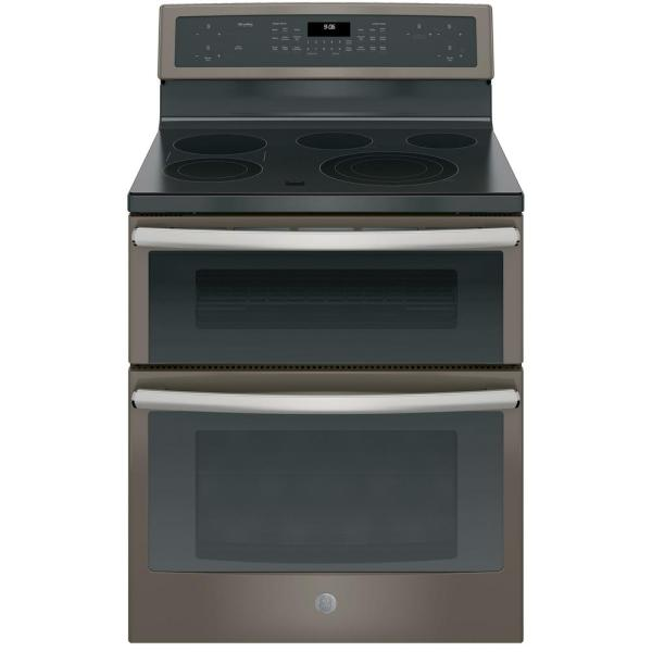 Ge Profile 6.6 Cu. Ft. Double Oven Electric Range With -cleaning And Convection Lower