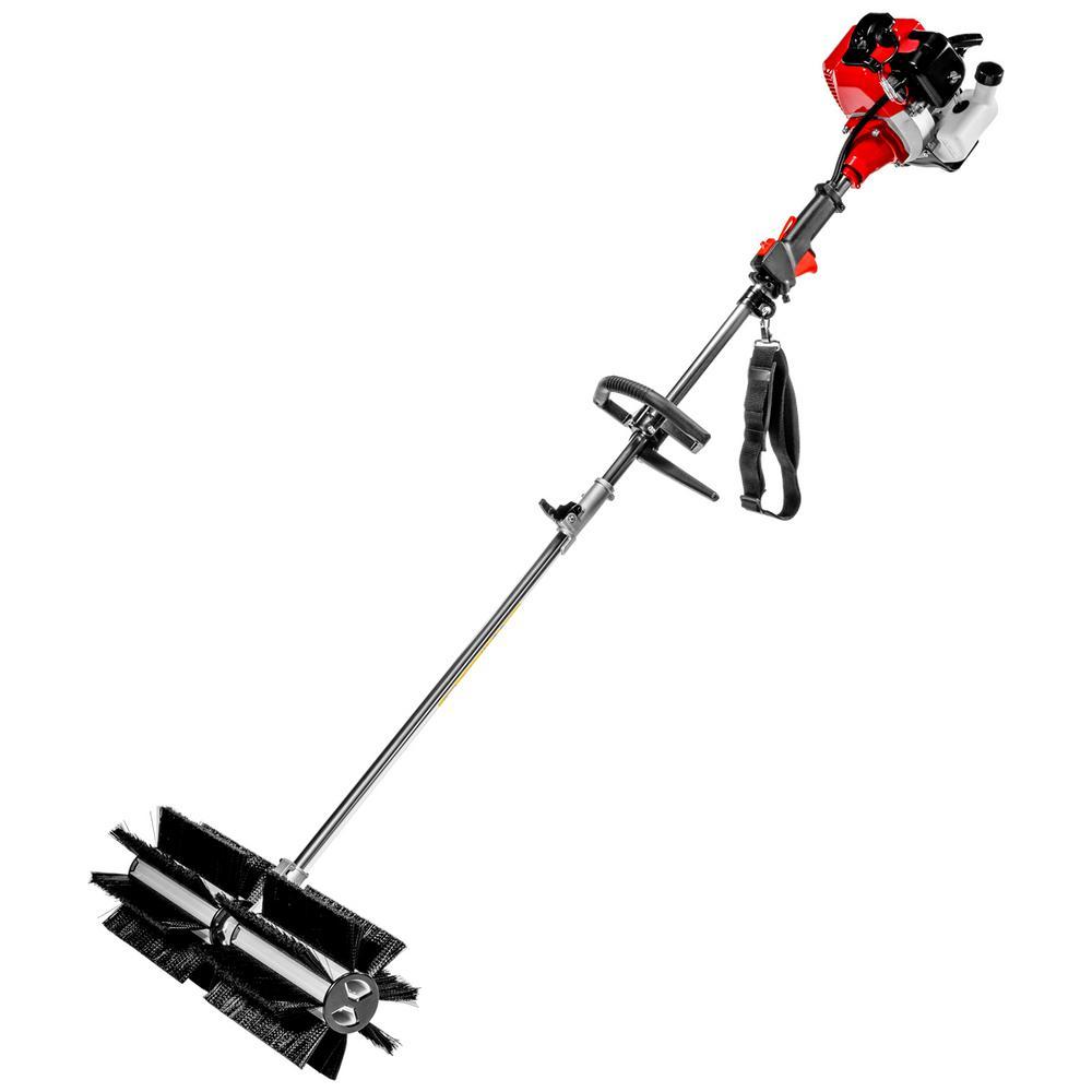 XtremepowerUS 43 cc 24 in. Portable Gas Power Brush Snow