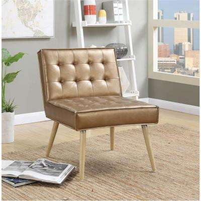 ave six chair ergonomic with adjustable armrests wood chairs living room furniture the home depot amity sizzle copper fabric tufted accent