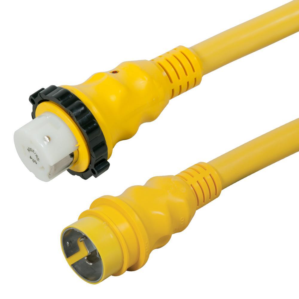 hight resolution of 50 amp 125 250 volt power cord plus cordset 4