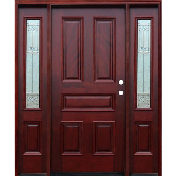 Stained Mahogany Front Door Vtwctr