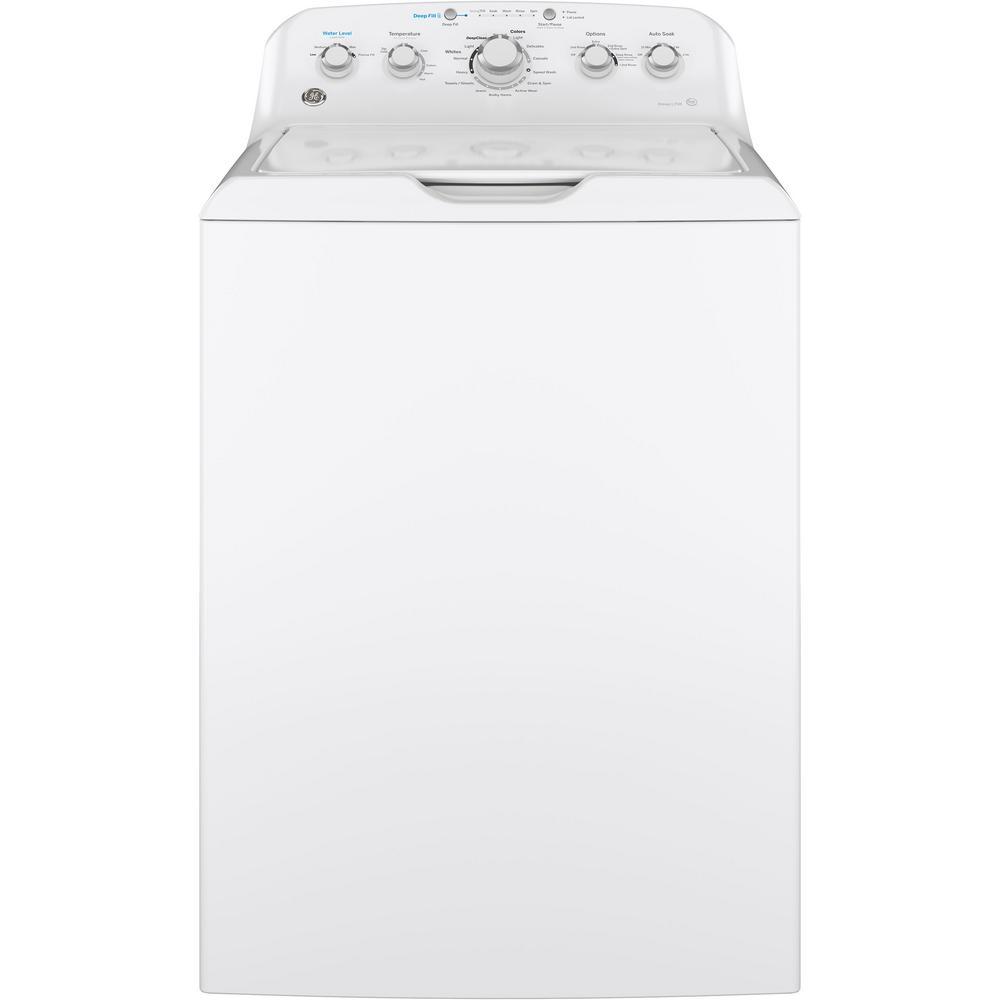 medium resolution of high efficiency white top load washing machine with stainless steel basket