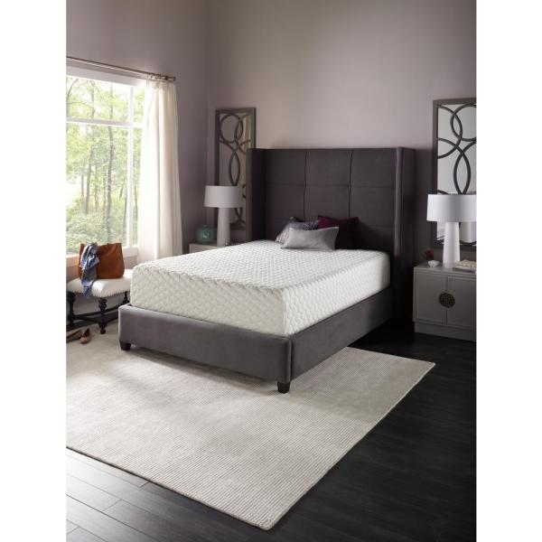 Beautyrest 12 In. Queen Gel Memory Foam Mattress-700753694-1050 - Home Depot