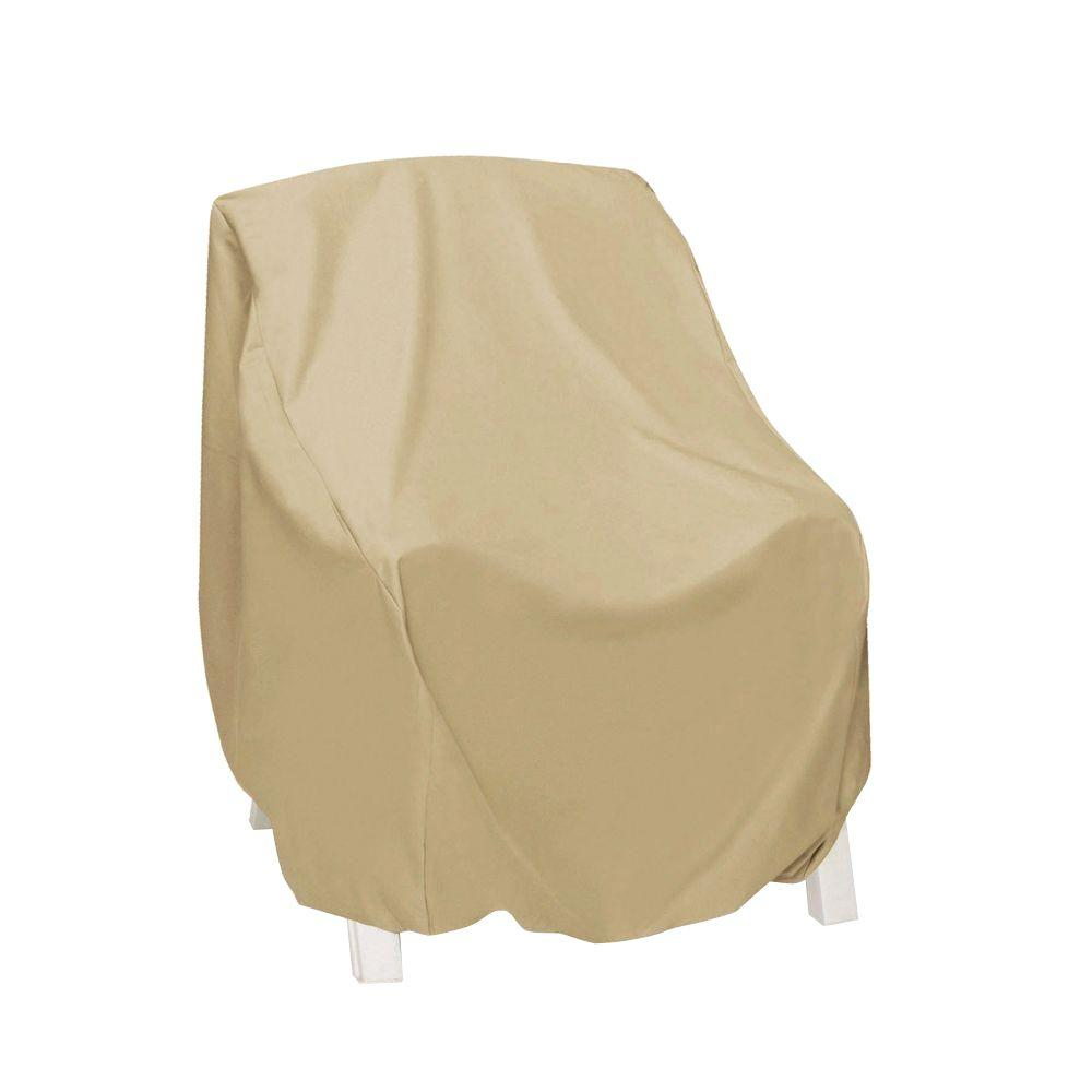 chair covers long back design within reach two dogs designs khaki high patio cover 2d pf30345 the