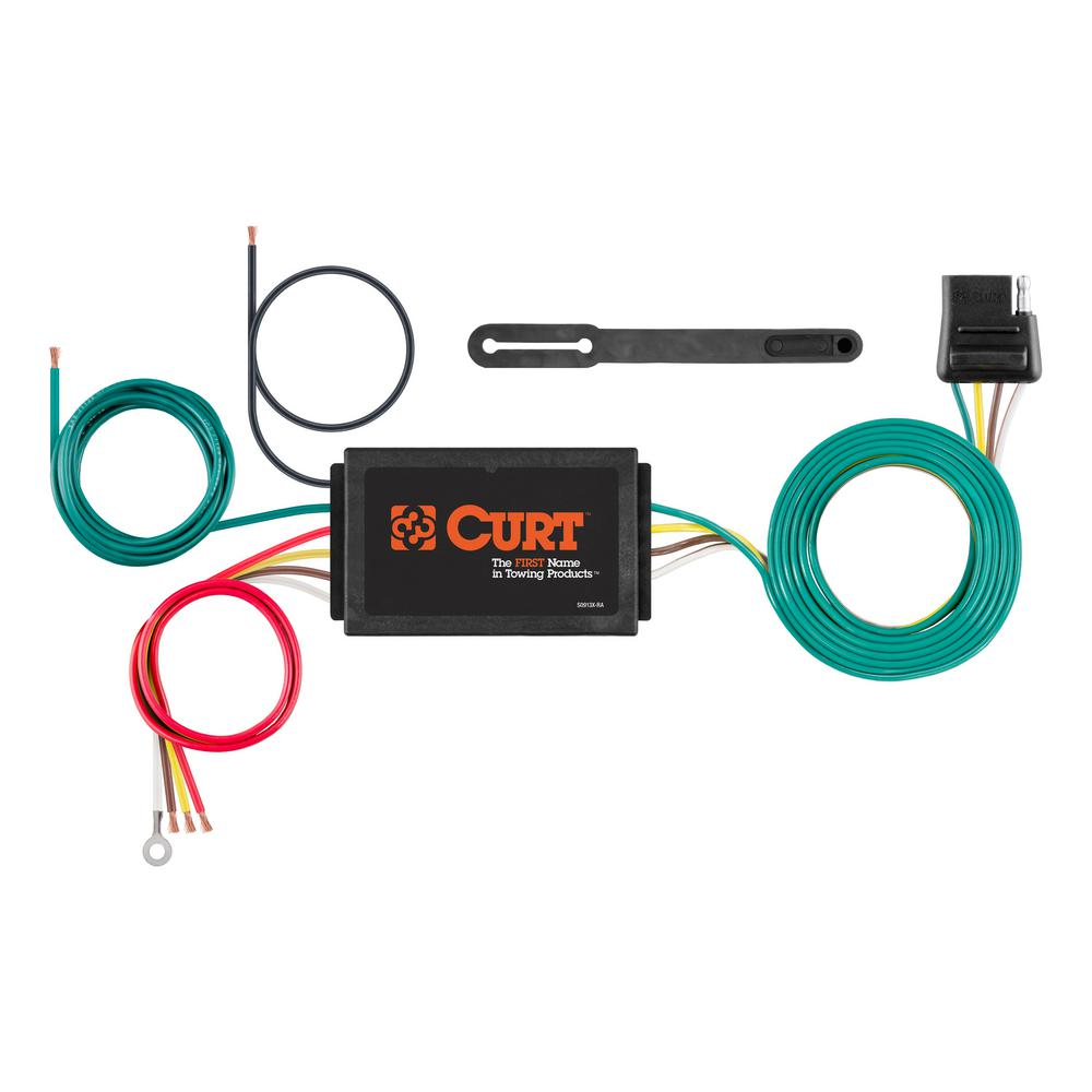 hight resolution of curt powered 3 to 2 wire taillight converter