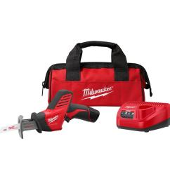 milwaukee m12 12 volt lithium ion hackzall cordless reciprocating saw w 1 [ 1000 x 1000 Pixel ]