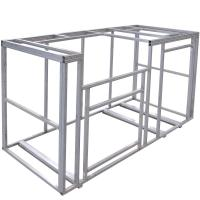Cal Flame 6 ft. Outdoor Kitchen Island Frame Kit-KD-F6002 ...