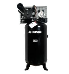 husky 80 gal 5 hp 2 stage air compressor hs5181 the home depot5 hp 2 stage [ 1000 x 1000 Pixel ]