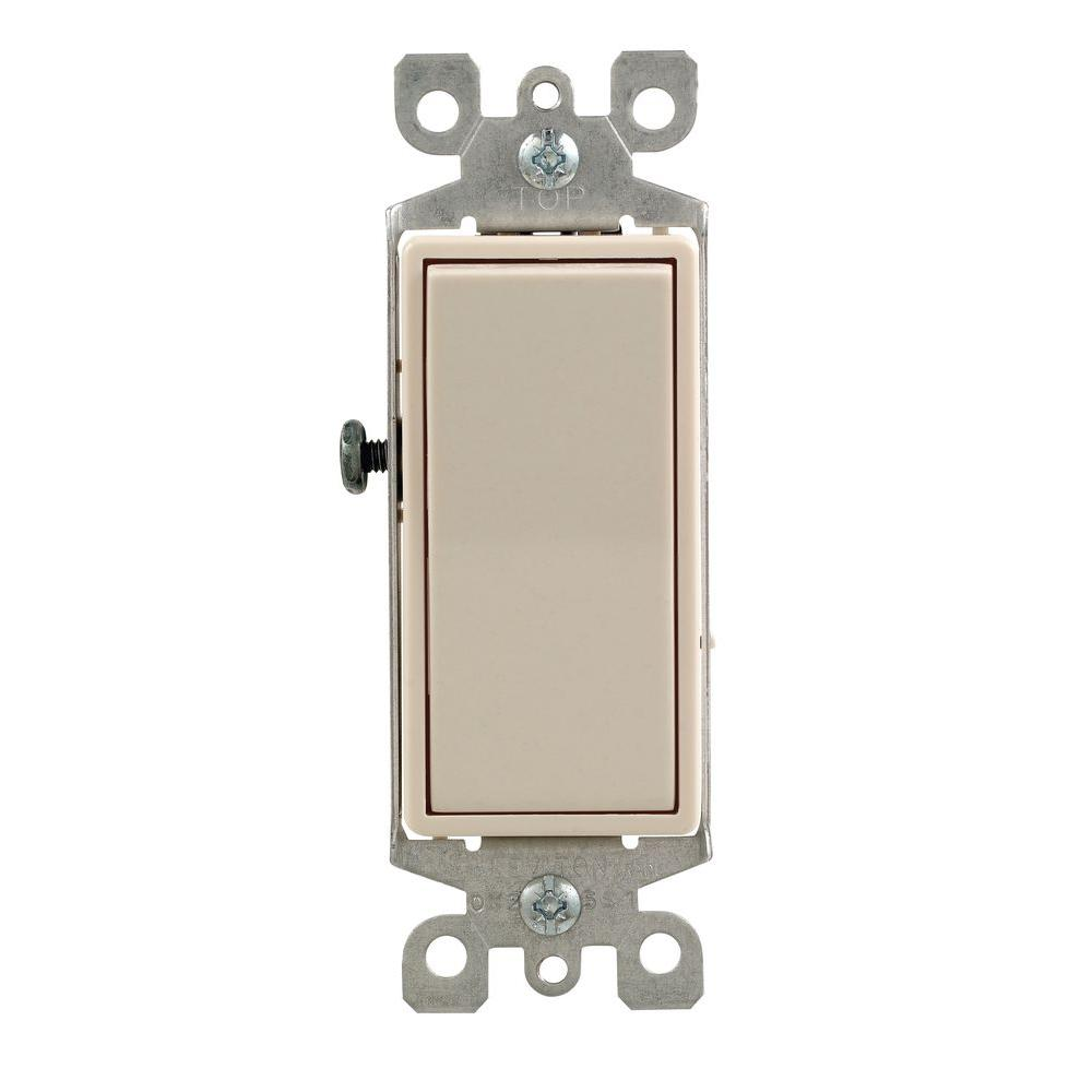 medium resolution of leviton decora 15 amp 4 way rocker switch light almond