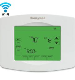 honeywell wi fi thermostat wiring diagram [ 1000 x 1000 Pixel ]