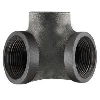 LDR Industries Pipe Decor 1/2 in. Black Iron 90-Degree ...