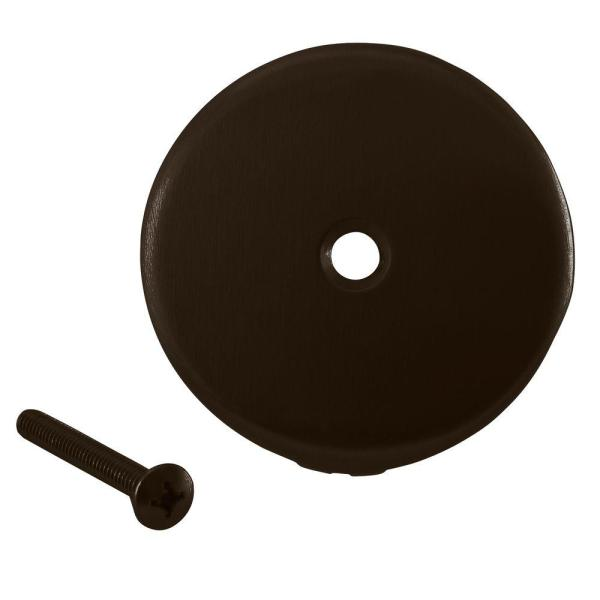 Westbrass 3-1 8 In. Dia 1-hole Bathtub Overflow Face Plate