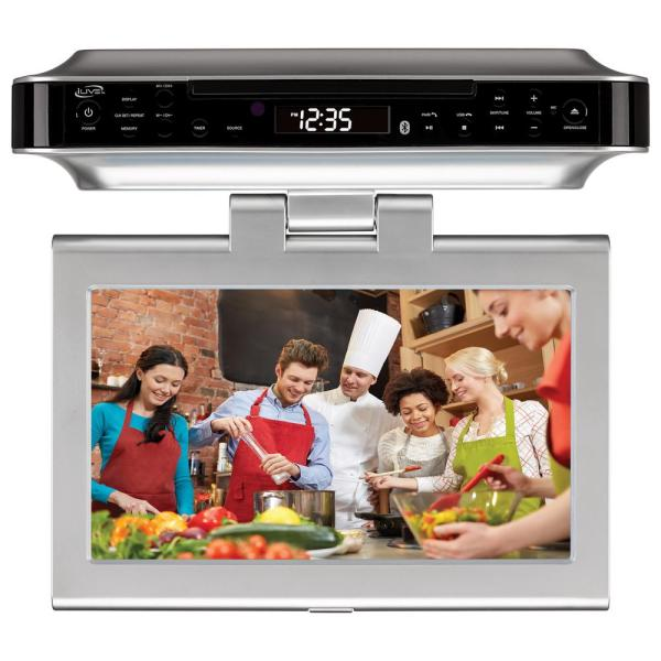 Ilive 10 In. Lcd Bluetooth Under Cabinet System With Tv