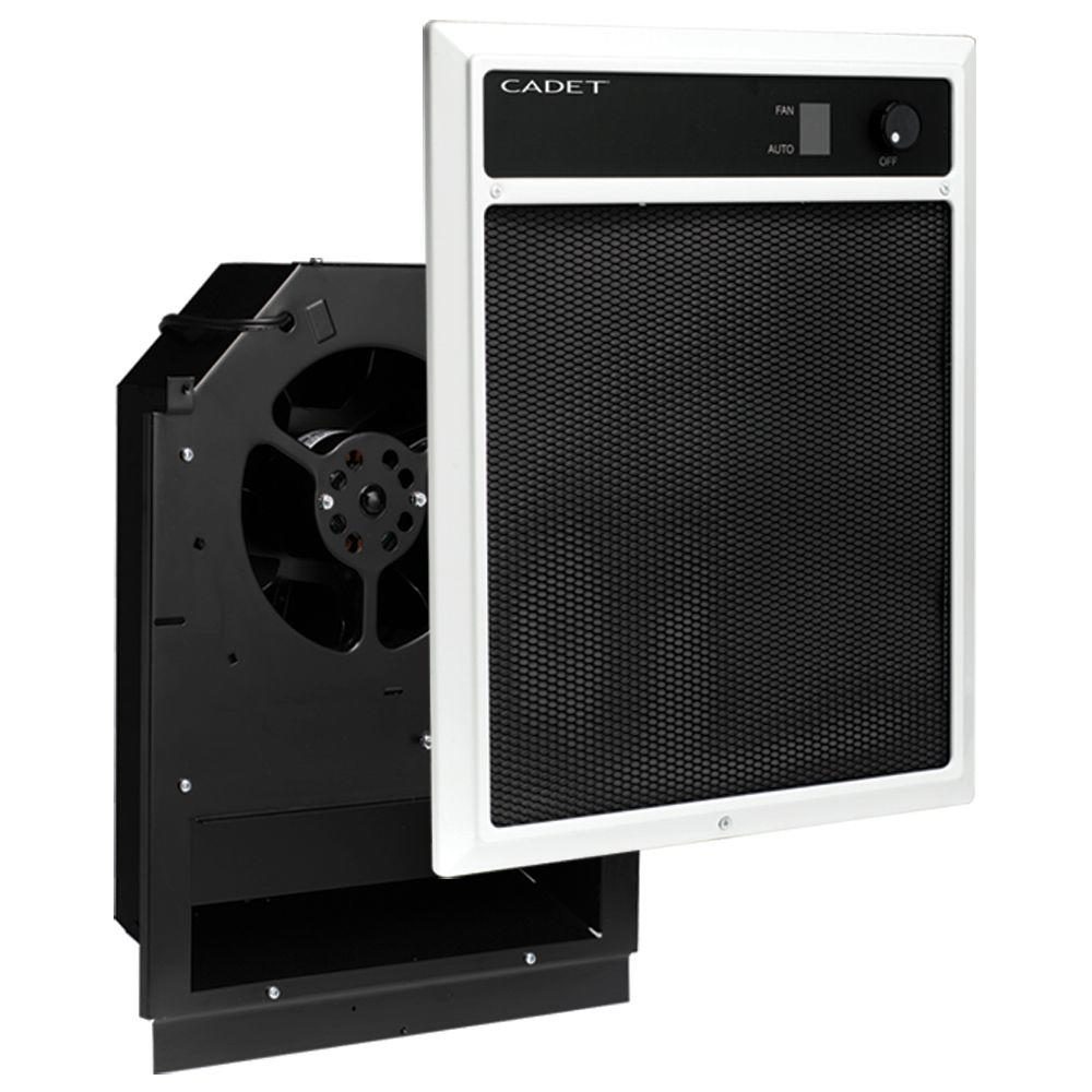 medium resolution of nlw series 4 500 watt 240 208 volt in wall fan forced electric heater assembly with grill