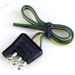 7 Way Trailer Plug Wiring Diagram Ford F150 Earth S Atmosphere Layers Towing Lights Equipment The Home Depot 4 Flat Connector