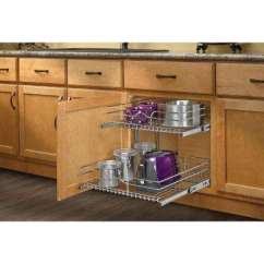 Shelves For Kitchen Cost Of Cabinets Pull Out Cabinet Organizers Storage Organization The 19 In H X 20 75 W 22 D Base