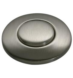 sink top switch push button in satin nickel for garbage disposals [ 1000 x 1000 Pixel ]