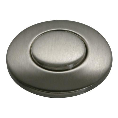 small resolution of sink top switch push button in satin nickel for garbage disposals