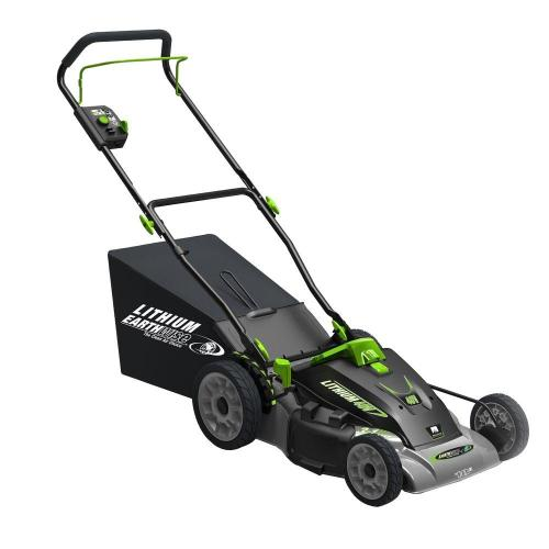 small resolution of earthwise 18 in 3 in 1 40 volt lithium ion cordless battery walk behind electric push mower two batteries charger included 60418 the home depot