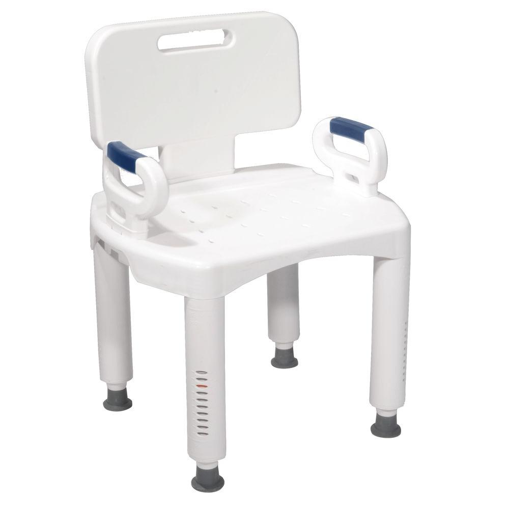 handicap shower chair atlas chairs and tables stools accessories the home depot bath bench with back arms