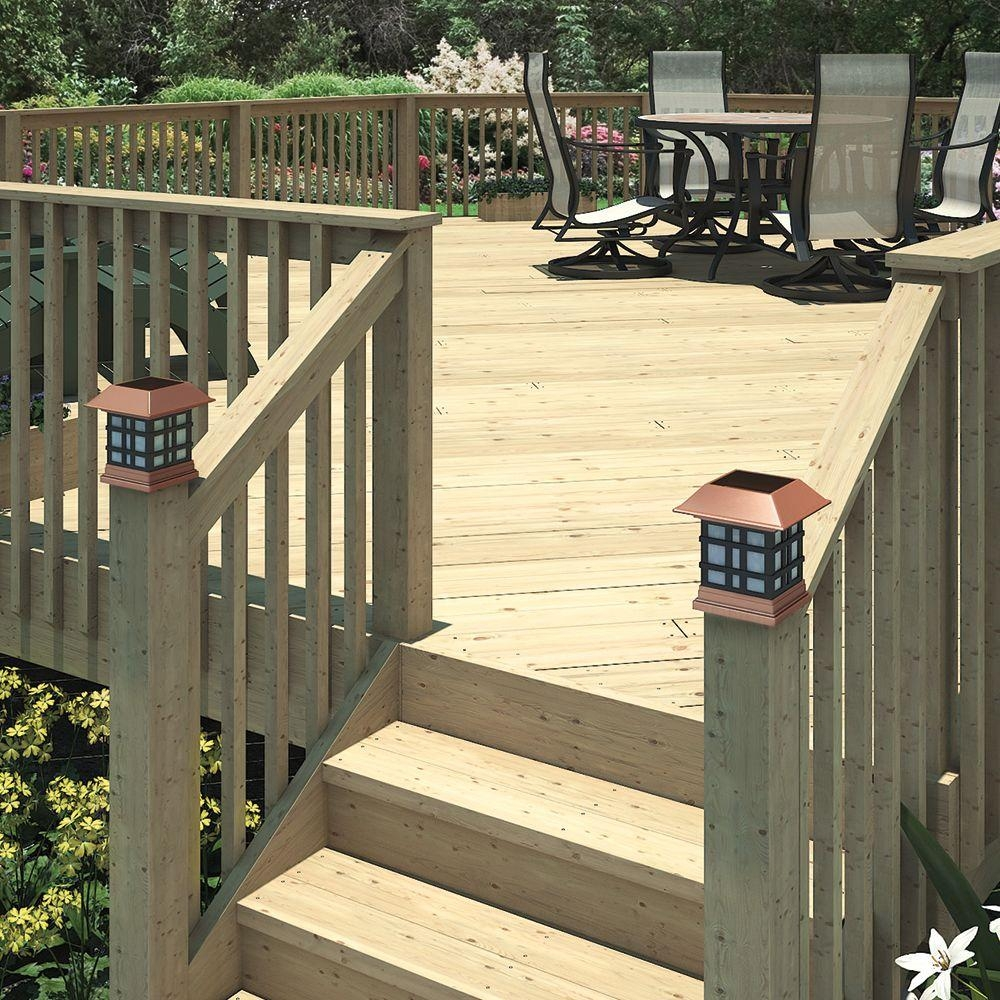 2 Step Ground Contact Pressure Treated Pine Stair Stringer 298239   Pressure Treated Wood Stairs   L Shaped   Exterior   Timber   45 Degree Stringer   8 Foot