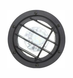 low voltage black outdoor integrated led landscape well light [ 1000 x 1000 Pixel ]