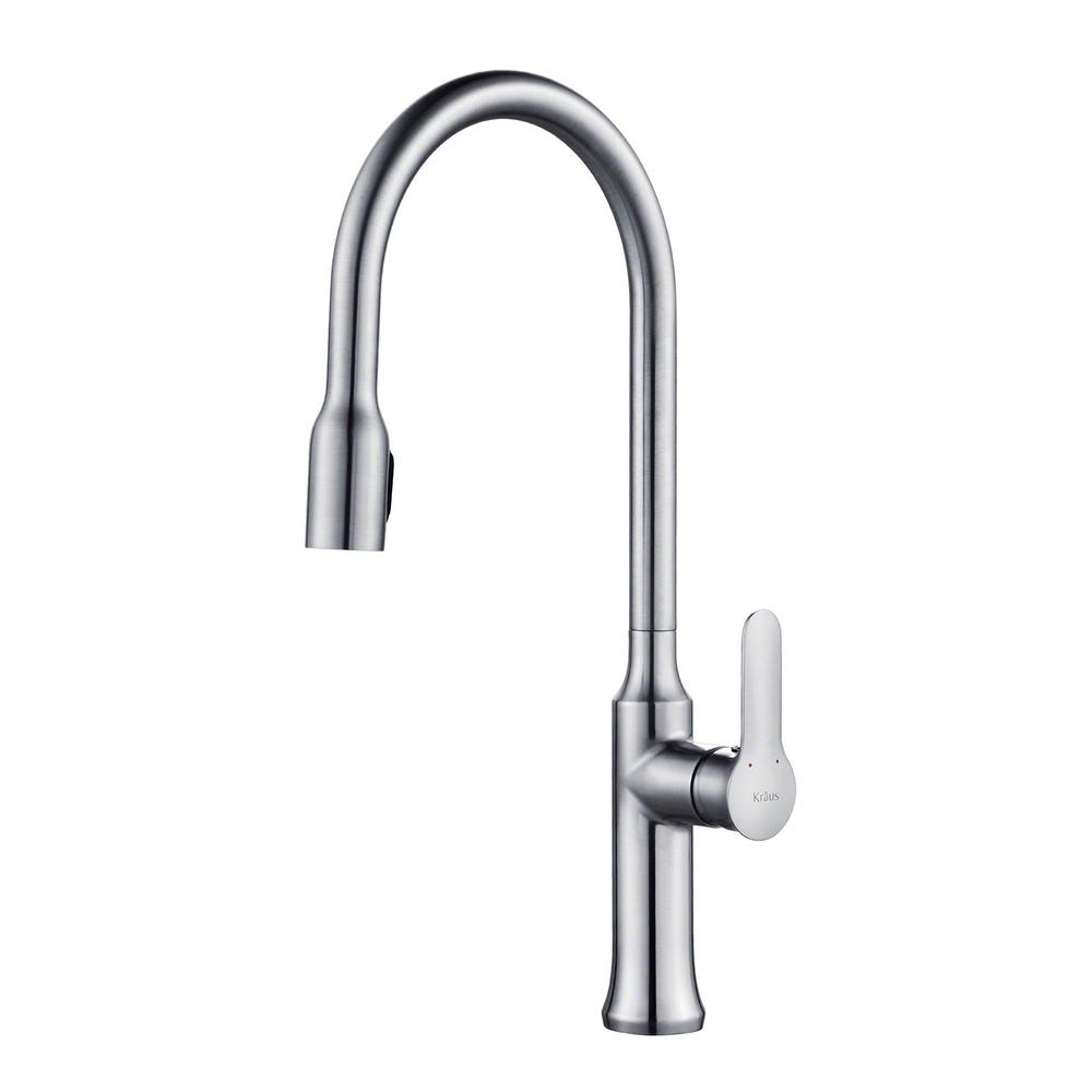 KRAUS Nola Single-Handle Concealed Pull-Down Kitchen