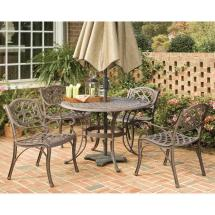 Home Styles Biscayne 48 In. Bronze 5-piece Patio
