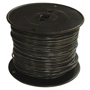 Southwire Ft 6 Black Stranded Cu Simpull Thhn Wire