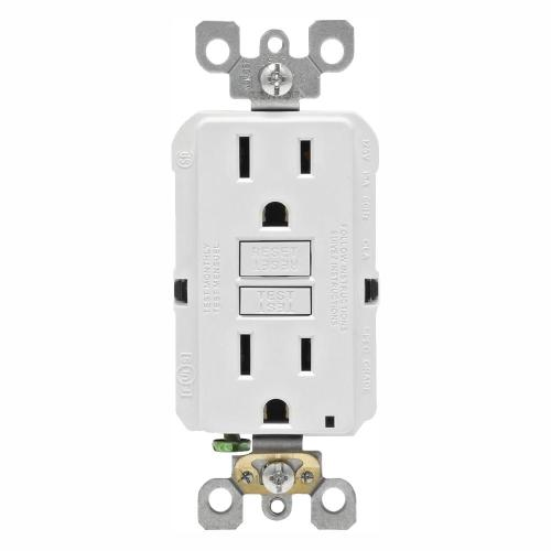 small resolution of this review is from 15 amp 125 volt duplex self test slim gfci outlet white 4 pack