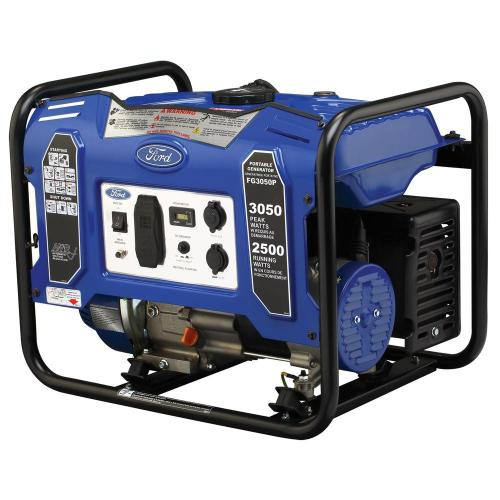 small resolution of ford 3 050 2500 watt gasoline powered recoil start portable generator with 180 cc ducar