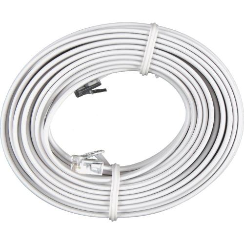 small resolution of phone line cord white