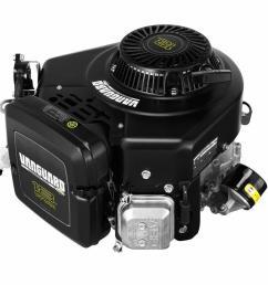 briggs stratton 18 hp v twin vertical vanguard gas engine [ 1000 x 1000 Pixel ]