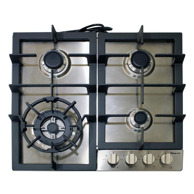 Picture Of Whirlpool Sears Kenmore Range Cooktop 6 Gray Porcelain Drip Pan W Chrome