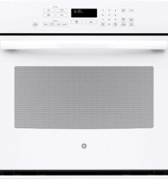 ge profile 30 in single electric wall oven self cleaning with steam plus convection [ 1000 x 1000 Pixel ]