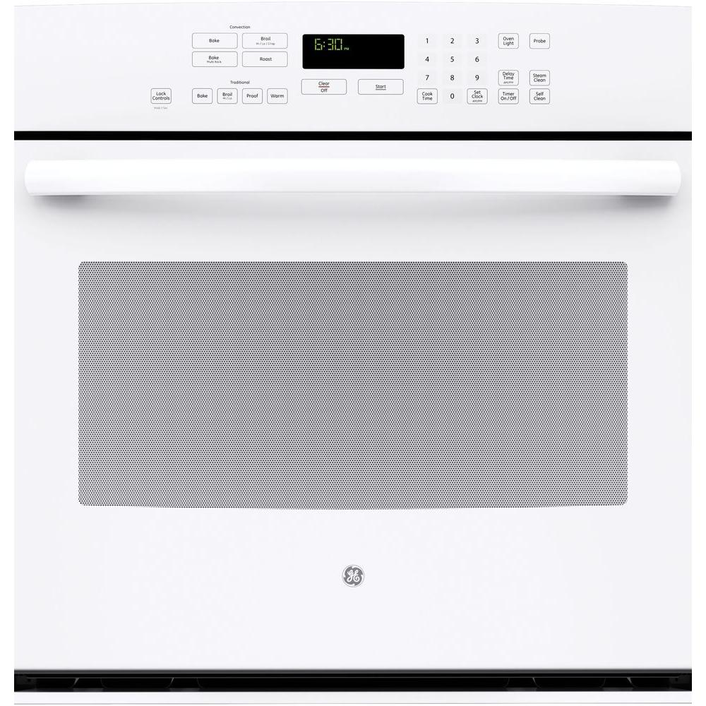 hight resolution of ge profile 30 in single electric wall oven self cleaning with steam plus convection