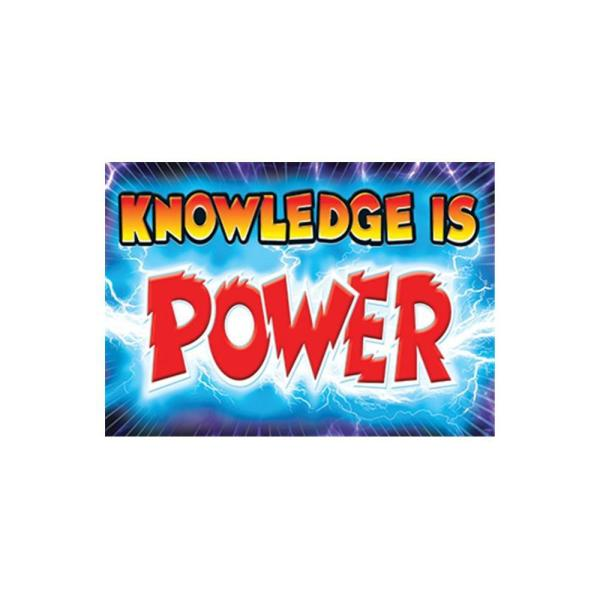 knowledge is power poster