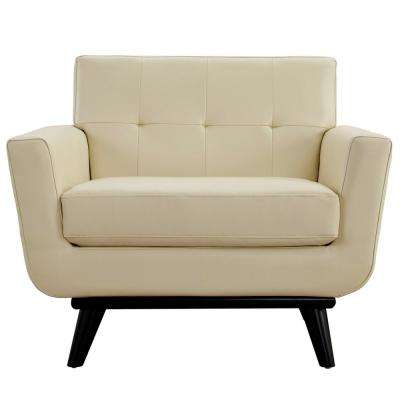 mid century modern leather accent chair covers for weddings basingstoke faux beige chairs engage bonded armchair