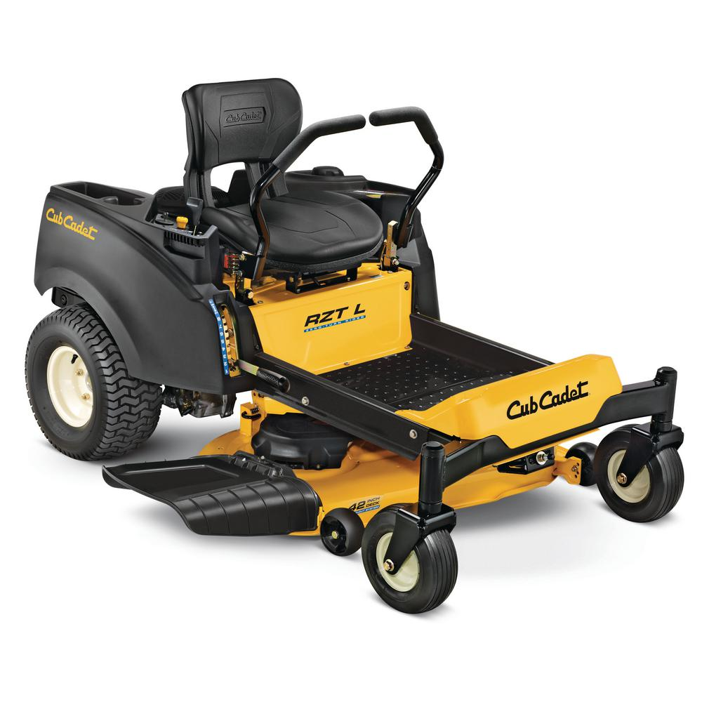 hight resolution of cub cadet rzt l 42 in 23 hp kohler v twin gas