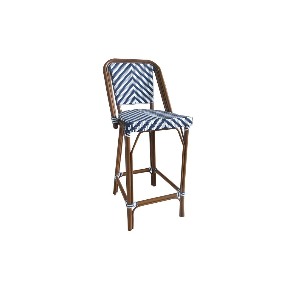 chair design brands wooden garden chairs aspen modern navy and white aluminum stackable plastic wicker bistro bar commercial grade outdoor dining