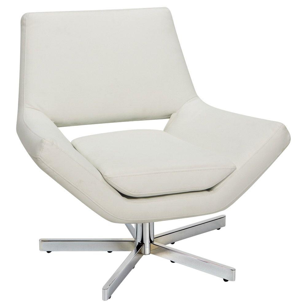 modern white desk chair hanging with cushion ave six yield faux leather office yld5130 w32 the home