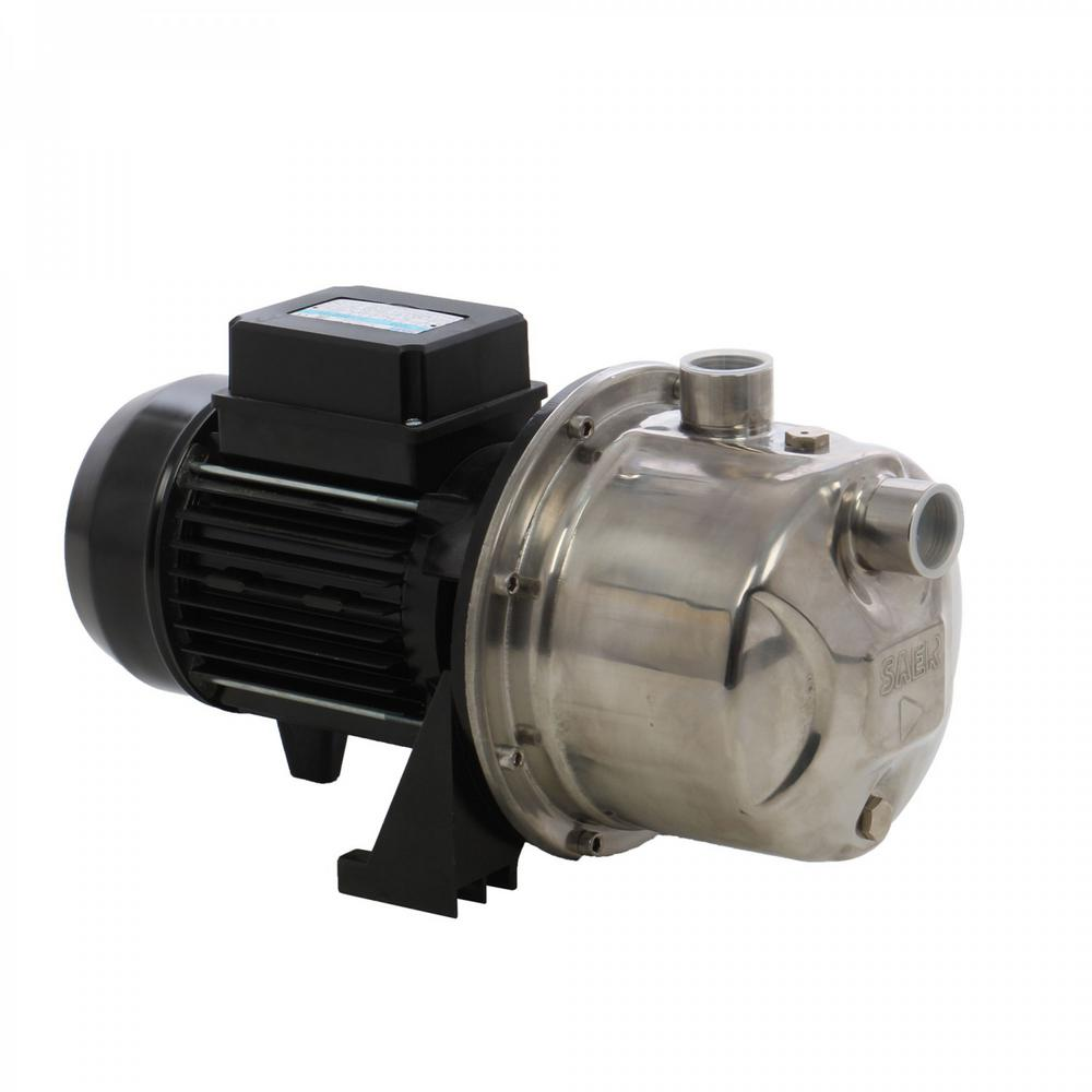 hight resolution of 1 hp stainless steel self priming jet pump
