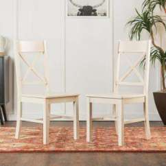 Antique White Dining Chairs Childrens Outdoor Table And Kitchen Room Furniture Millwright Wood Chair