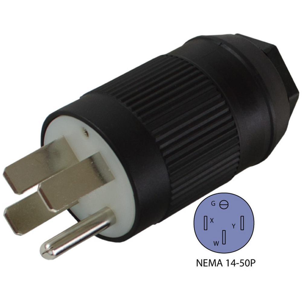 250 Plug Wiring Diagram Conntek Rv Generator Range Nema 14 50p 50 Amp 125 250 Volt