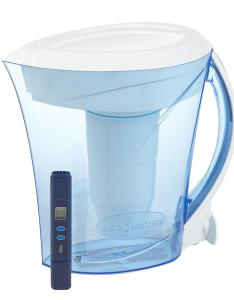 Zero water also cup filter pitcher zd  the home depot rh homedepot