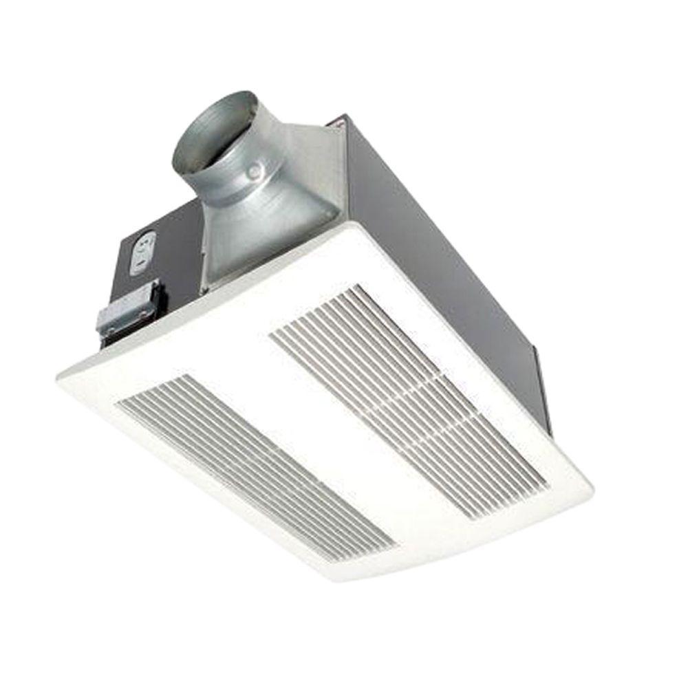 Panasonic Whisperwarm  Cfm Ceiling Exhaust Bath Fan With Heater